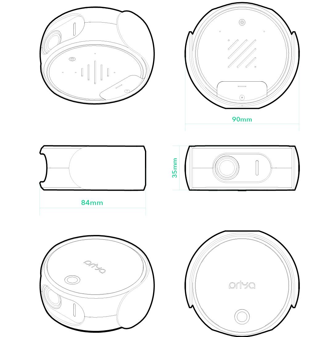 Priya Babycare Device Design