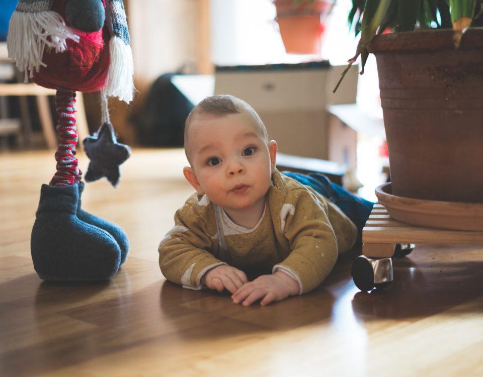 Sicurezza del bambino in casa