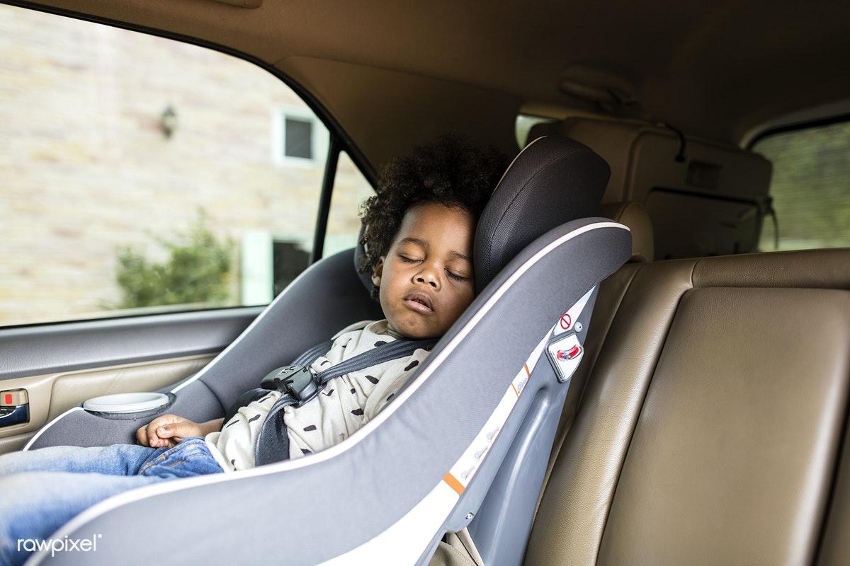 baby sleep in the car